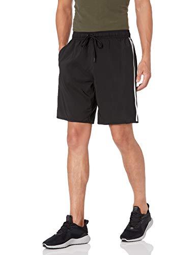 adidas 3-Stripes CLX Swim Shorts Baador para Hombre, Negro/Blanco, XL