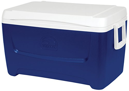 Igloo Island Breeze 48 koelbox, rood