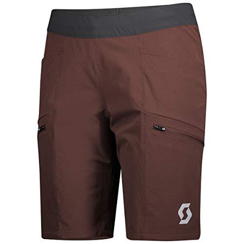 Scott - Radsport-Shorts für Damen in Maroon Red, Größe 40-42