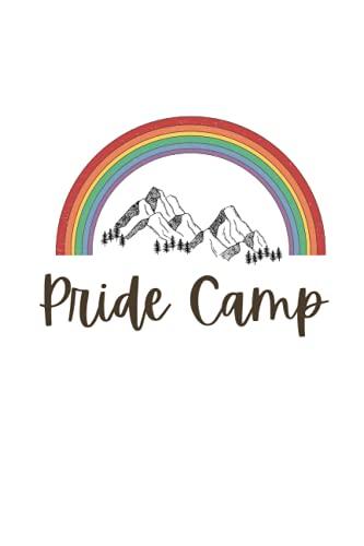 Camp Pride: Camping Journal & RV Travel Logbook, LGBT Vintage Camper Journey , GAY PRIDE LOG BOOK , Adventure Journals & Log Book (GAY PRIDE EDITION)