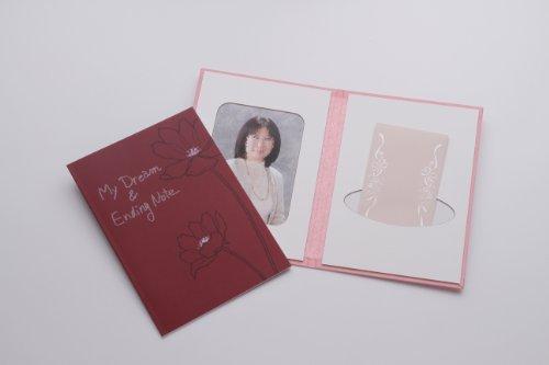 夢をかなえるエンディングノート(女性版)前撮り写真用台紙セットプレゼントにも最適