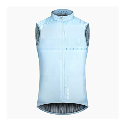 Henanyimeixiang Vélo Nouveau léger Coupe-Vent Gilet Black Sheep Cycling Wind Vest Out Wear Cycling Wind Vest Gilets réfléchissants (Color : Grey, Size : L)
