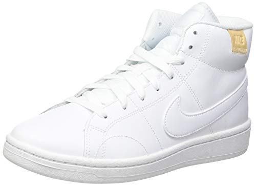 Nike Court Royale 2 Mid, Zapatos de Tenis Mujer, Bianco,...