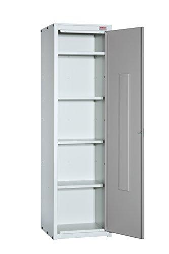 Armario metálico Limpieza Serie Venecia. Cierre Cerradura. Med. 1800x500x500 mm. Desmontado