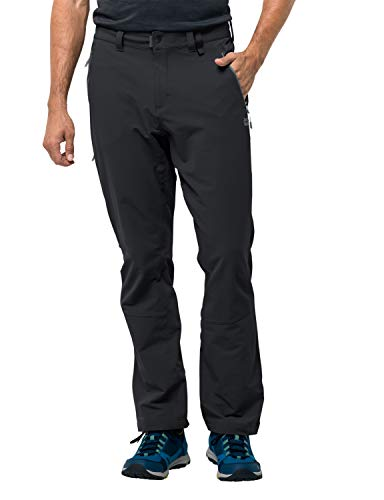 Jack Wolfskin Herren ACTIVATE XT MEN Hose ACTIVATE XT MEN, Schwarz (Black), 48