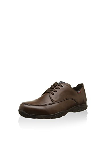 Callaghan, Zapatos de Cordones Derby para Hombre, Marrón, 44 EU