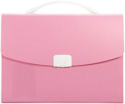 13 Pocket Expanding File Folder Letter Size Accordion File Organizer Document Folder with Handle product image