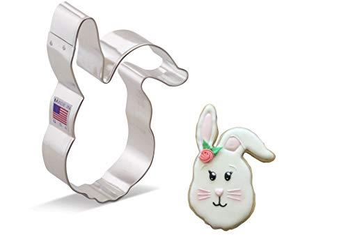 "Ann Clark Cookie Cutters Easter Bunny / Rabbit Cookie Cutter, 4.5"""