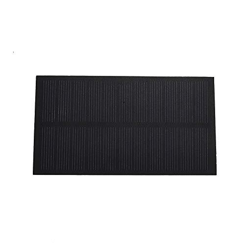 Haihuic 5.5V 200mA Mini Solarzelle Panel Modul 1.1W für Telefon Licht Spielzeug Solar Ladegerät DIY 127 mm x 69 mm