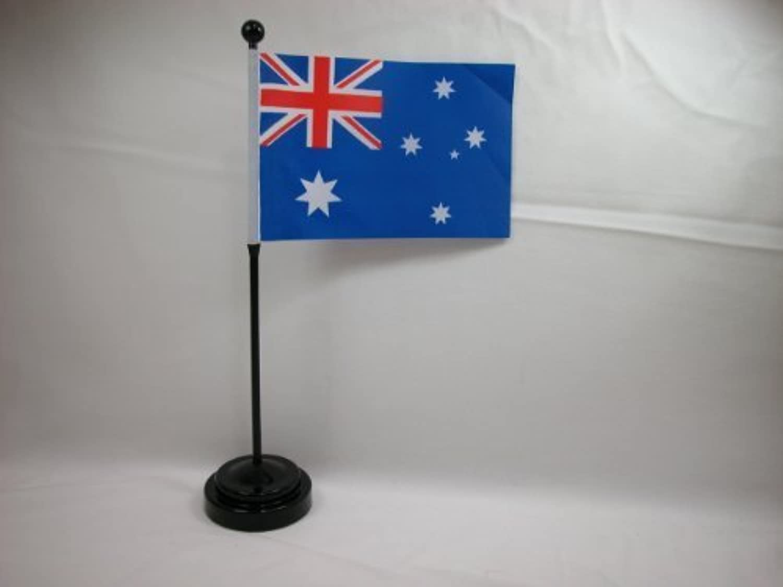 Australia 4 x6  Hand Held or Table Top Flags International Flag Australia by EZ FLAGS