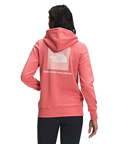 The North Face Women's Box NSE Pullover Hoodie, Faded Rose, M
