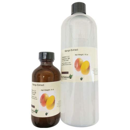 OliveNation Premium Premium Mango Extract - 16 ounces - Gluten-free and Sugar-free - Premium Quality Flavoring Extract For Baking