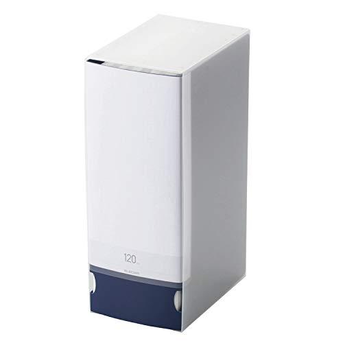 エレコム ファイルケース DVD BD CD 対応ファイルケース 120枚収納 ブルー CCD-FB120BU