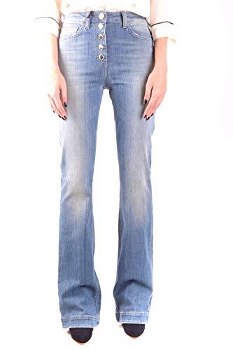 Elisabetta Franchi Luxury Fashion Donna MCBI35997 Blu Jeans | Stagione Outlet