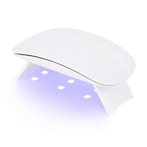 USB Portable Nageltrockner 6W 6 Lichter UV/LED Mini Travel Nagellampe zum Aushärten Nageltrockner Nagel Gel Polish Trockner Lampe Nail Art Maniküre Werkzeuge