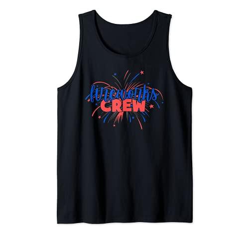 Equipo pirotécnico de fuegos artificiales Camiseta sin Mangas