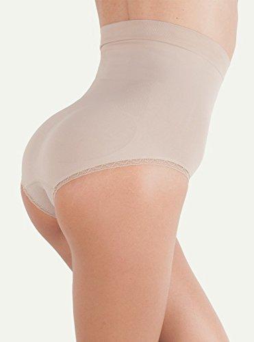 Begood Culotte donna contenitiva e modellante in Dermofibra, skin l/xl