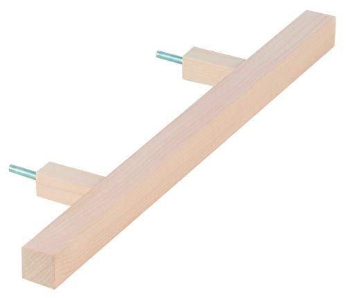 Preisvergleich Produktbild eliga Türgriff eckig,  Holz hell