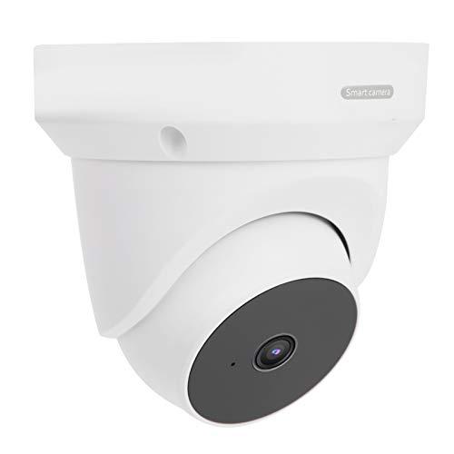 Cámara al Aire Libre de la inclinación de la Cacerola del Monitor de la visión Nocturna infrarroja de 1080P WiFi,(European regulations)