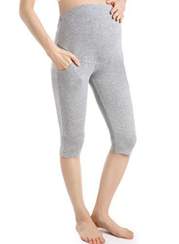 Ferrieswheel Story Pantaloni Donna Incinta Premaman Shorts Pregnancy Leggings Gravidanza Fitness
