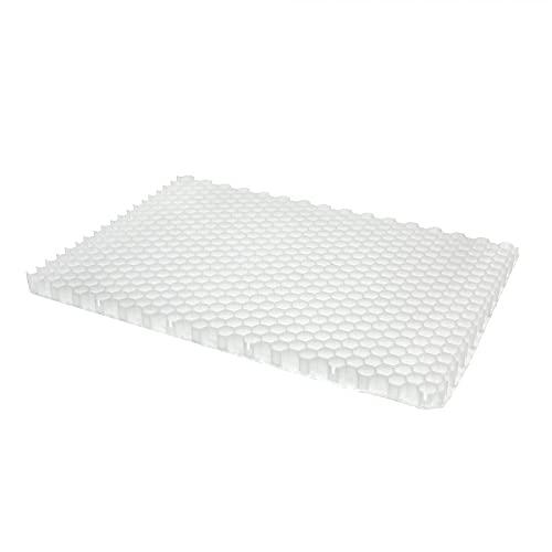 Jouplast Stabilisateur de Gravier Alveplac 1166x800x40 mm - A l'unité - Blanc
