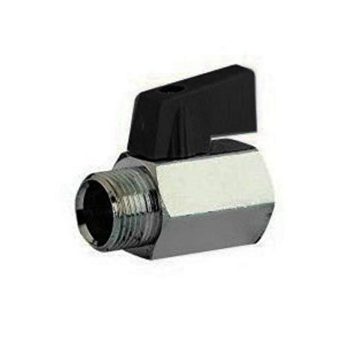 Universal - Mini valvula de esfera 1/2 h 1/2 m c/maneta