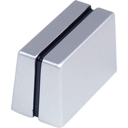 Reloop RMX-20/30/40/50/Effex 2/Scratch 2 Fadercap silber