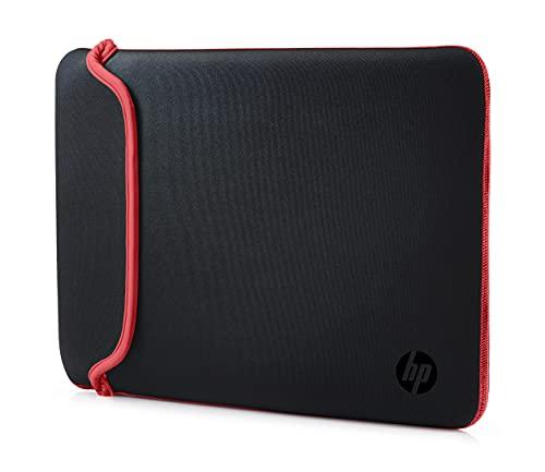 HP Sleeve (V5C30AA) Schutzhülle für Laptops, Tablets (Neopren, 15,6 Zoll) schwarz /rot