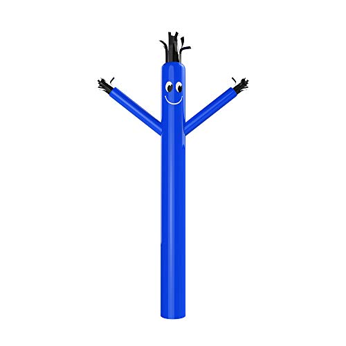 MOUNTO 20ft 18inch Fly Puppet Dancer Tube Man Fly Guy Puppet Dancer (BLUE)