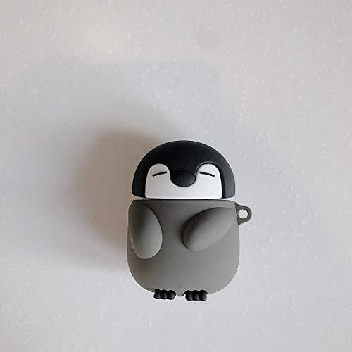 Accesorios para auriculares Para Airpods Pro 3D Lindo Pingüino Bebé Earpods Funda para Apple Airpods 1 2 3 Kawaii Wireless Auricular Protector de la Cubierta de Shell Auriculares Funda protectora