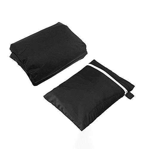 blinfixe Garden Furniture Covers,210D Oxford Cloth Bench Covers Waterproof 2/3 Seater, Anti UV Snow Dust Wind Proof Cover Patio Table Backyard Garden Covers set Rip Proof Polyester Rectangular
