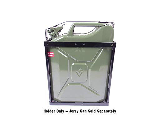 Jerry Can Holder, NATO Style Steel, Fits Wavian and Valpro Style Cans, for 5 Gallon (20 Liter) Military Spec Cans