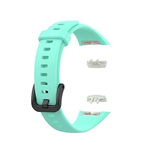 Ghzste Correa Compatible para Huawei Band 6 / Honor Band 6,Correa De MuñEca De Silicona,TPU Correa De Pulsera De Repuesto Impermeable Compatible para Huawei Watch,Banda De Reloj Inteligente