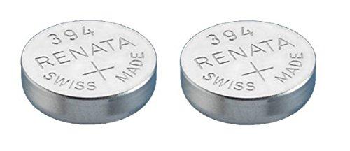 Single de Renata reloj batería Suizo hizo Renata 394 o SR936SW o AG9 1.5V rápida nave (5 x 394 Or SR 936 SW)