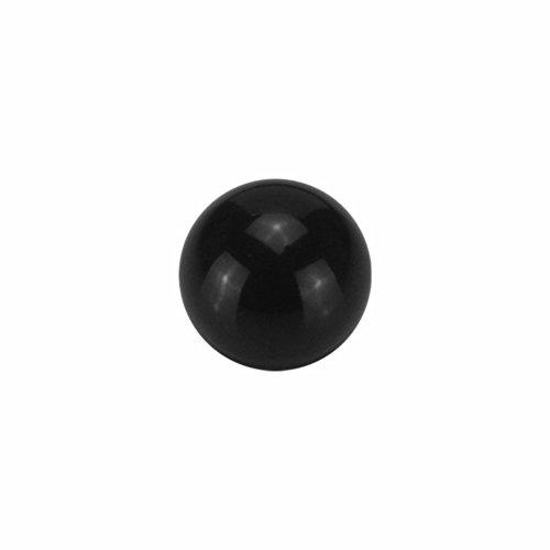 eeddoo Piercingkugel Klassisch Schwarz Black Titan Gewinde: 1,6mm 4mm