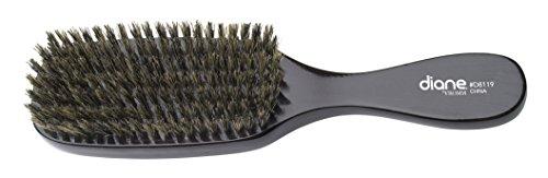 Diane Men's Natural Boar Bristle Wave Brush, 9 Inches