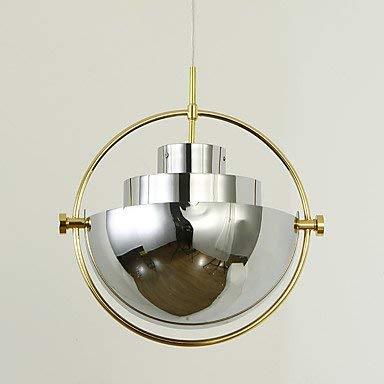 Hanglamp halve cirkel van metaal moderne schaduw lampenkap lampenkap chroom voor slaapkamer woonkamer kantine bar decoratie