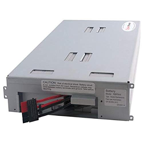 CyberPower RB1290X4B Replacement Battery Cartridge, Maintenance-Free, User Installable