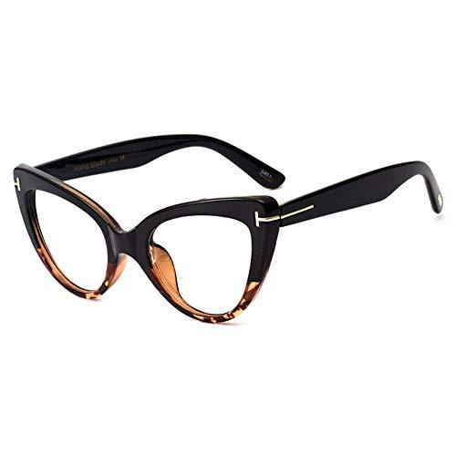 EYEphd Gafas de Lectura al Aire Libre de los Ojos del Gato Retro de Las señoras, Gafas de Sol de Lentes de Resina aspirales Inteligentes/Anti-deslumbramiento dioptrías +0.5 a +3.0,03,+1.0