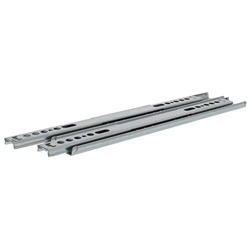 ToniTec Kugelauszug 27mm Länge: 246mm Schubladenschienen Einfachauszug