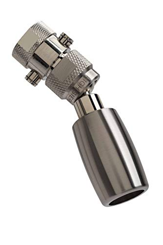 High Sierra's All Metal 1.8 GPM High Efficiency Low Flow Showerhead with Trickle Valve. Available in: Chrome, BRUSHED NICKEL, Oil Rubbed Bronze or Polished Brass