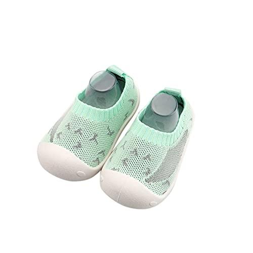 YWLINK Calzado Casual Infantil Zapatos De Goma Antideslizantes Calcetines De Punto Zapatos De Casa OtoñO Nuevas Botas Desnudas Zapatos para ReciéN Nacidos Zapatos De Primer Paso Suave Y Transpirable