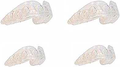 Pro Teeth Whitening Trays- 4 Pack - No BPA - Safe Clear Color - No Color Additive - Precision Fit Material- Fit Any Mouth Size - Custom Fit - Free carrying case included