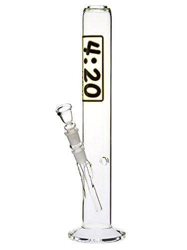 Highline Glasbong 4:20-44cm, 18,8mm - Head&Nature Bong-Kollektion