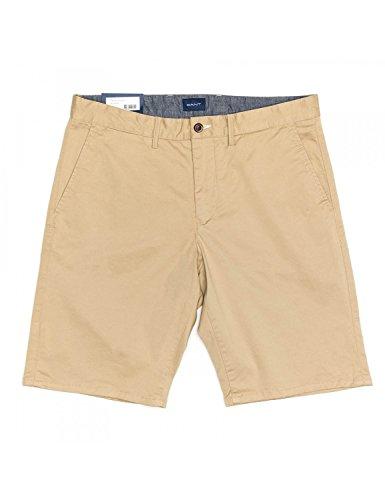GANT Herren D1. Relaxed Twill Shorts, Dark Khaki, 32