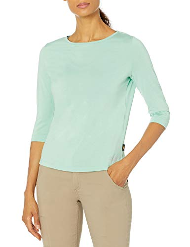 Jack Wolfskin Damen Jwp 3/4 T-Shirt, Pacific Green, XL