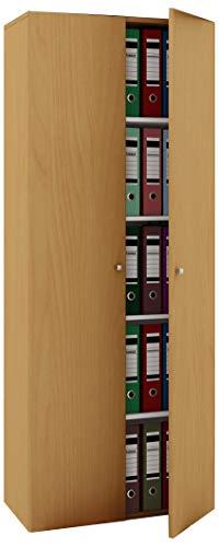 VCM Schrank Universal Kleiderschrank Mehrzweckschrank Dielenschrank Flur Möbel Holz Buche 178 x 70 x 40 cm