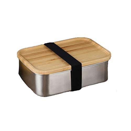 Xiaojie La caja de almuerzo de madera es una caja de almuerzo diversa caja cuantitativa de grano caja de sushi