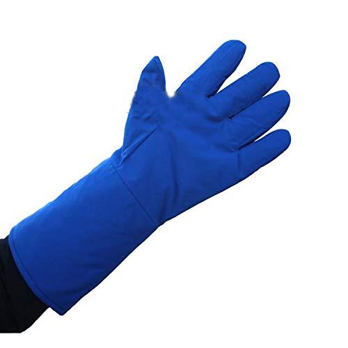 guantes para hornear Guantes anticongelantes Guantes anticongelantes duraderos a prueba de viento, a prueba de viento, de nitrógeno, a baja temperatura, resistentes guantes de cocina para cocinar