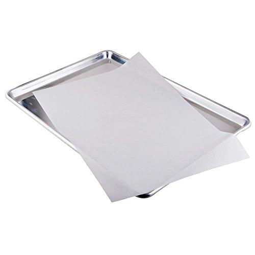 ChefLand Quilon Parchment Paper Pan Liner Baking Sheets - 12' x 16', 100...